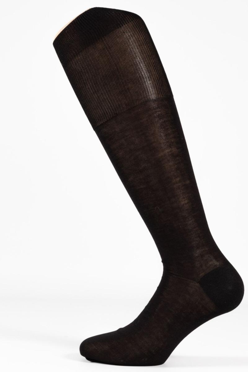 calza-classica-lunga-con-polsino-inglese-nera