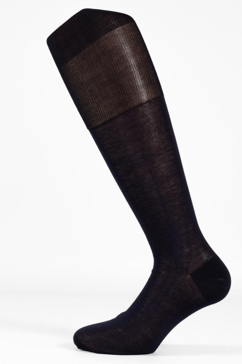 calza-classica-lunga-con-polsino-inglese-blu