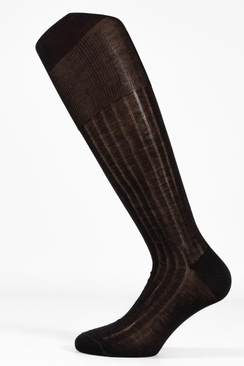 calza-lunga-costina-colore-nero